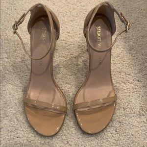 Stuart Weitzman Nudistsong Ankle Strap Sandal 5.5